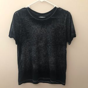 Forever 21 Black and Grey Tee